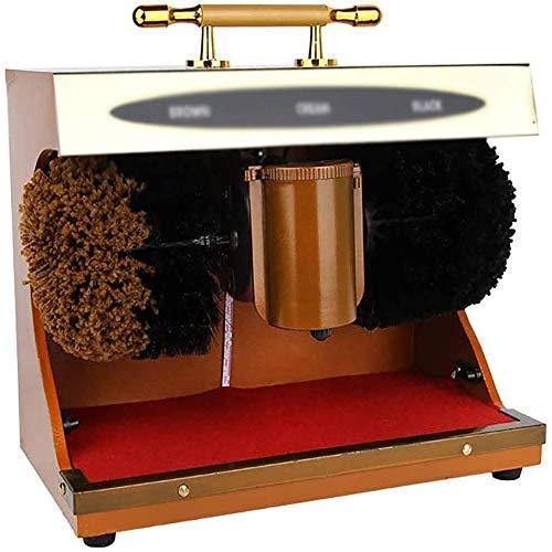 Polador De Zapatos, Soporte Durable Hogar Público Multifuncional Multifuncional Automático Cepillo De...