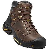 """KEEN Utility - Men's Mt Vernon 6"""" (Steel Toe) Waterproof Work Boot, Cascade Brown, 11 D"""