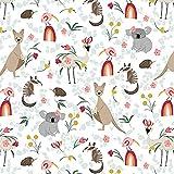 Koala Fabrics PB33 Känguru & Freunde – ab 0,5 Meter –