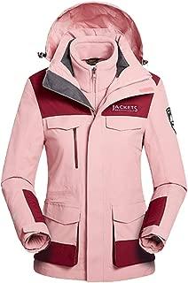 HIOD Waterproof Jacket - Women's Windproof Breathable Warm Softshell Functional Jacket