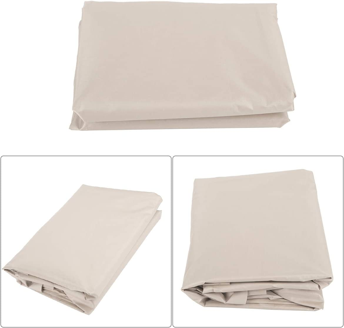 Swing Seat Cover for Garden Patio Swing,Grey//Green//Coffee//Beige DERCLIVE Patio Swing Cover Set Waterproof Swing Canopy Seat Top Cover