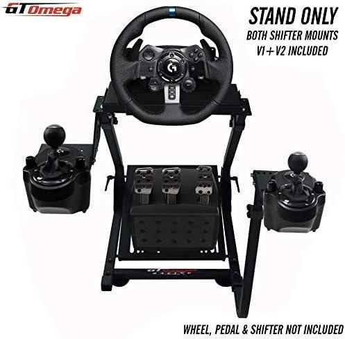 GT Omega Support de Volant pour volant Logitech G29 G923 G920 Racing, pédales, V2 montage de levier de vitesses - Xbo...