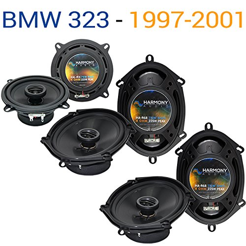 Compatible with BMW 323 1997-2001 Factory Speaker Replacement Harmony (2) R68 R5 Package New