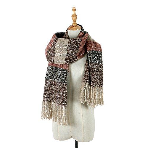 Womens Winter Scarf Fashion Long Scarves Warm Cozy Wrap Shawl