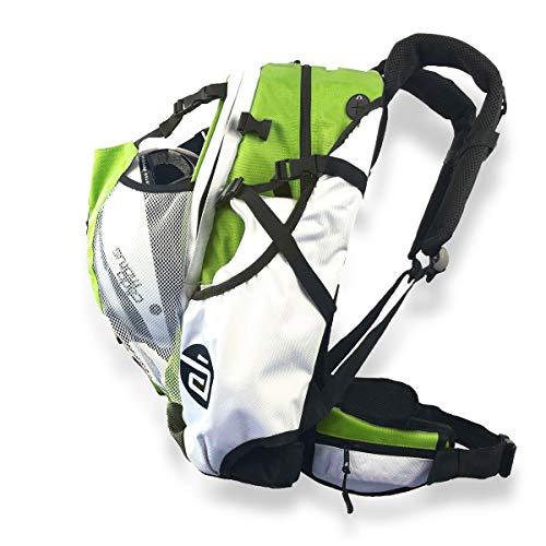 CADOMOTUS Airflow - Mochila de Deporte para Ciclismo y Patinaje