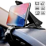 Ceuta Retails® Car Phone Holder Dashboard Cellphone Mount Mobile Clip Stand for Samsung