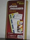 Pack de 4unidades–Adams escribir N Stick mensaje Pads, papel autocopiante (2piezas,...