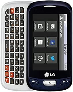 LG Rumor Reflex S Blue Sprint Cell Phone Ready To Activate!