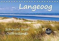 Langeoog - Schnste Insel Ostfrieslands (Tischkalender 2021 DIN A5 quer): Impressionen der Nordseeinsel Langeoog (Geburtstagskalender, 14 Seiten )