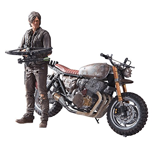 The Walking Dead Actionfigur Daryl Dixon mit Motorrad