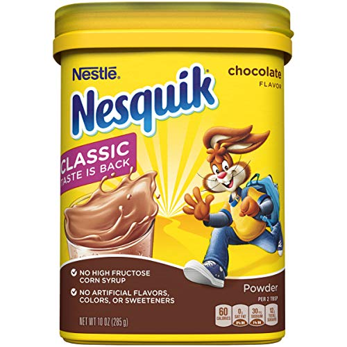 Nesquik Powder Drink Mix, 10 Ounce