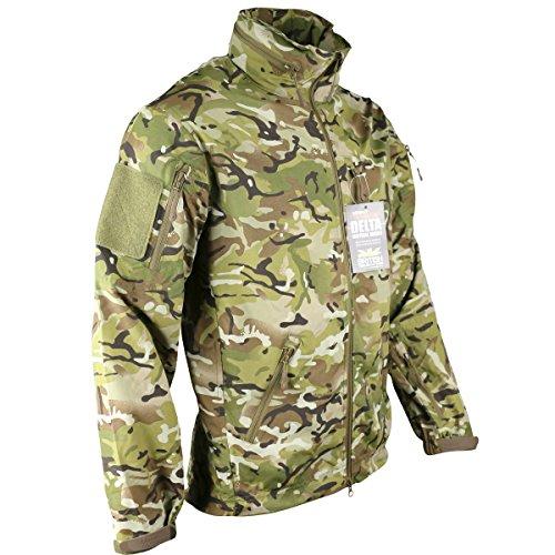 Kombat UK Herren 's British Terrain Muster Delta Nylon Jacke–Mehrfarbig, X-Large