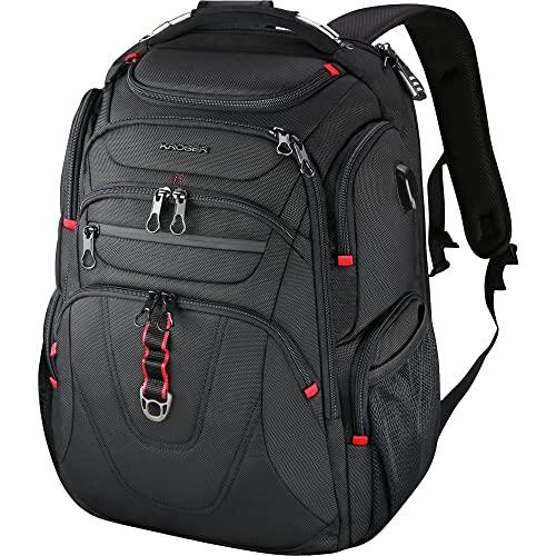 KROSER TSA Friendly Travel Laptop Backpack 17.3...