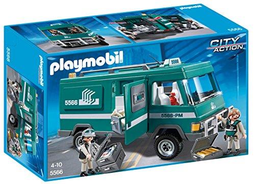 PLAYMOBIL Policía: Vehículo para Transportar