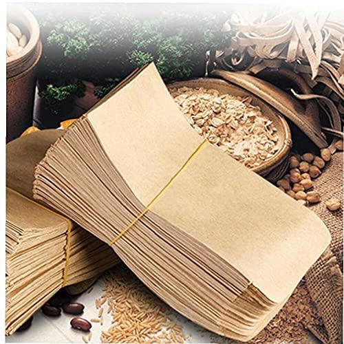 Ruluti Los Sobres De Semillas De Época En del Papel De Kraft Brown Semilla Bolsas De Semillas De Bolsillo Sobres De Semilla Bolsa De Almacenamiento para Hogar Food Garden Semillas Conservación