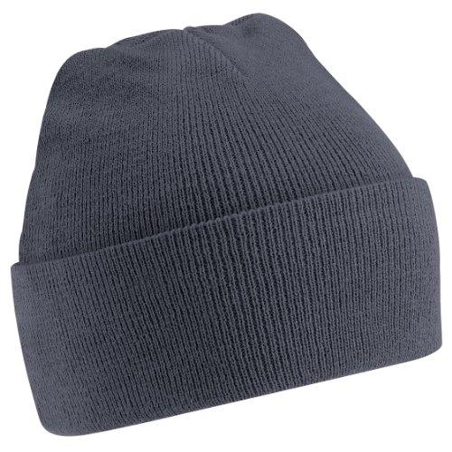 Beechfield - Bonnet tricoté - Adulte unisexe (Taille unique) (Gris graphite)