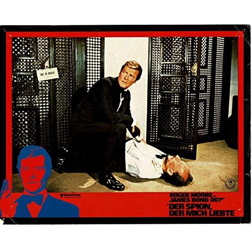James Bond 007 - Der Spion, der mich liebte - 3 Aushangfotos - 21x29cm (342)