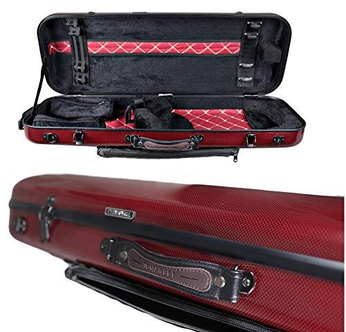 Originale Tonareli Custodia per viola rettangolare 36-43 cm RED GRAPHITE VAFO1007 EDIZIONE SPECIALE – VENDITORE AUTORIZZATO