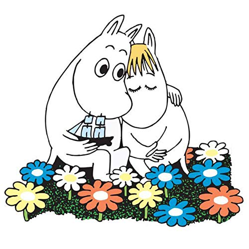 LXSY Kunstposter Mumin-Illustration Kunstposter Nostalgie Kunst Design Finnland Leinwand Poster - für Kinderzimmer/Wohnraum (versch.