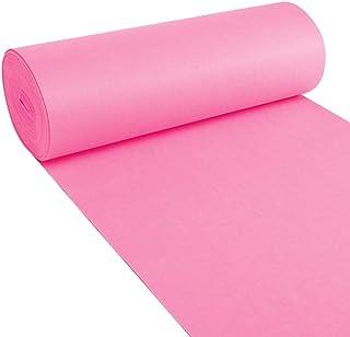 YANZHEN Hallway Runner Rugs Corridor Carpet Pink Water Absorption Non-Slip Stairs 2.5mm Thick, 1 M / 1.2 M / 1.5 M / 2 M W...