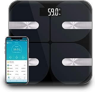 体重計 体重・体組成計 NPET 高精度 30*30cm 体重/BMI/水分/骨量/BMR/内臓脂肪/タンパク質率/体脂肪など測定可能 iOS/Androidアプリで健康管理 Google fitやApple healthデータ同期可 日本語対応アプリ