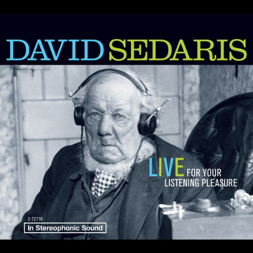 David Sedaris audiobook cover art