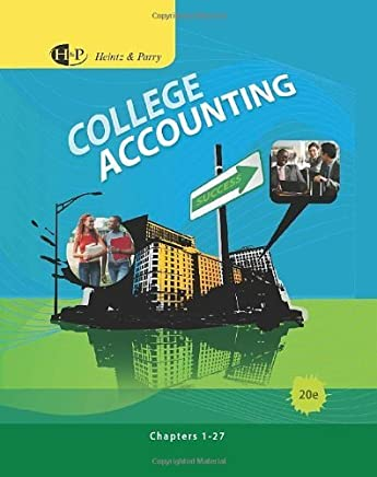 College Accounting, Chapters 1-27 (Available Titles CengageNOW) by James A. Heintz (2010-02-09)