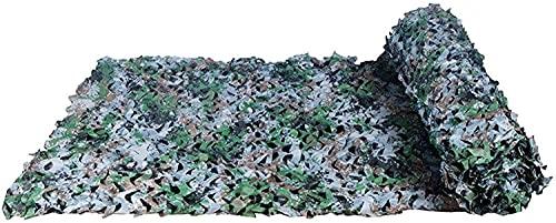 BRFDC Malla de Camuflaje Vela de Sombra Jungle Maple Camo Net Woodland Netificación de Camuflaje para la Caza Camping Party Decoration 616 (Color : D, Talla : 2x4m)