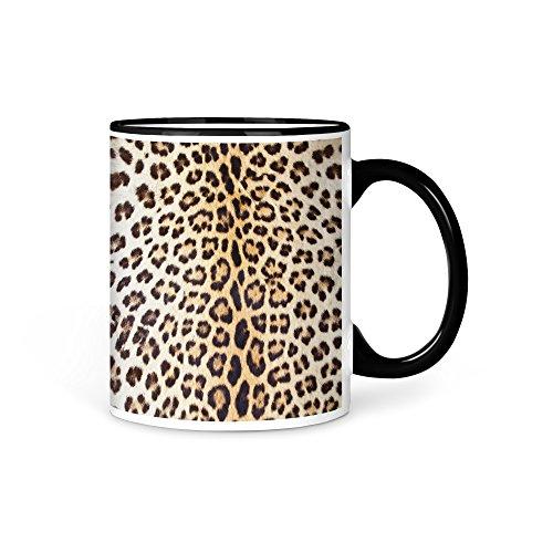 aina Tasse Kaffeetasse Löwe Fell imitat