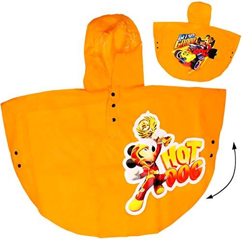 alles-meine.de GmbH - Trinkbecher - Disney - Mic.. alles-meine.de GmbH Regencape / Regenponcho - Disney - Mickey Mouse - GELB - incl. Name - Gr. 110 - 116 - 122 - Circa 4 bis 6 Jahre - für Kinder - Mädchen & Jungen / Regenjac..