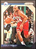 "2018-19 Panini PRIZM NBA Basketball Charles Barkley""Hall Monitors"" Hall of Fame Insert Basketball Card #3"