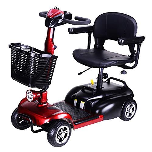 4 Roues Scooter Alimenté Mobilité Scooter Pliable Senior...