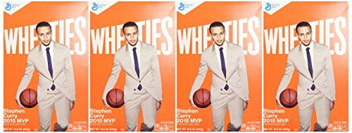 General Mills, Wheaties Cereal, 15.6oz Box (Pack of 4)