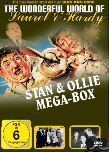 Laurel & Hardy Mega Box 2 DVDs