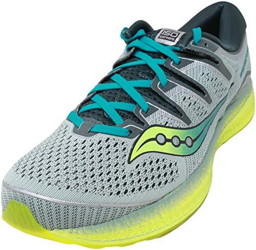 Saucony Triumph ISO 5, Zapatillas de Running Hombre, Verde Verde 37, 44.5 EU