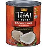Thai Kitchen Coconut Milk, 96 Oz - One 96 Ounce Container of Unsweetened, Premium Dairy Free Coconut...