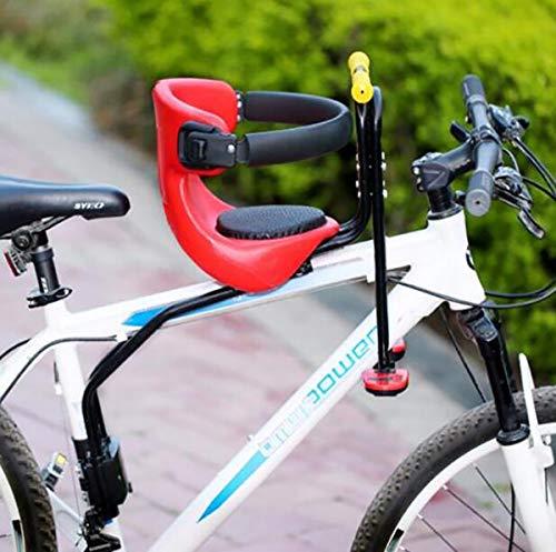 GW Bicicleta de Carretera de montaña Asiento de Seguridad para niños Silla Delantera para Bicicletas para niños de 0 a 6 años,A