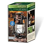 NorthPoint 12-LED Vintage Style Outdoor Lighting Lantern