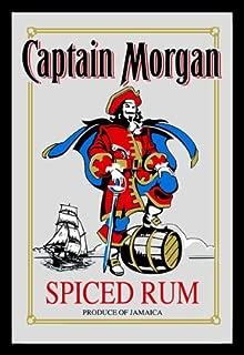 captain morgan bar mirror