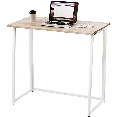 Schreibtisch klappbar weißes Holz