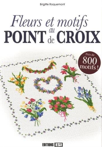 Fleurs et motifs au point de croix