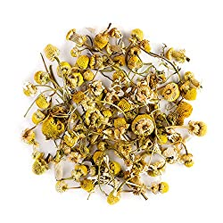 Camomile Organic Herbal Tea Flowers - Soothing and Relaxing - Wild Matricaria Pure Leaf Chamomile - Also Called Ground Apple, Low camomilla, Mother's Daisy or Whig Plant 200g