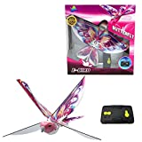 eBird Pink Butterfly - Flying RC Bird Drone Toy for Kids. Indoor / Outdoor Remote Control Bionic Flapping Wings Bird Helicopter. USB Recharging. Creative Child Preferred Choice Award Winner
