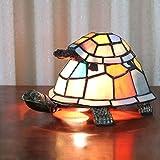 europeo creativo colorido madre y niño tortuga tortuga Luz de la noche de la lámpara de los niños...