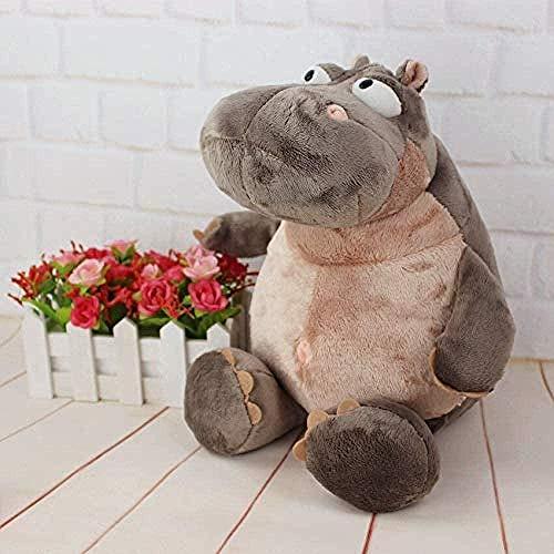 NC56 Plüschtier Hippo Puppe Plüschtier Hippo Kissen Stofftier