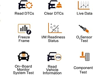 Autel Engine Code Scan Tool with reliable OBD2 functions - Convenient Autel OBD2 diagnostic tool for vehicles