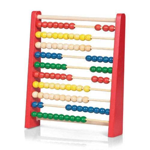 Tobar 19518 Wooden Abacus, Multicolour