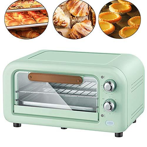 Back- und Toastofen, Toaster Multi Kochen Funktion & Grill einstellbare Temperaturregelung Timer - 800W -12L