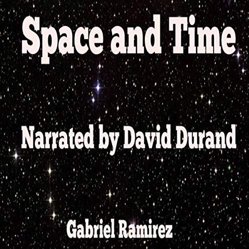 Space and time audiobook cover art