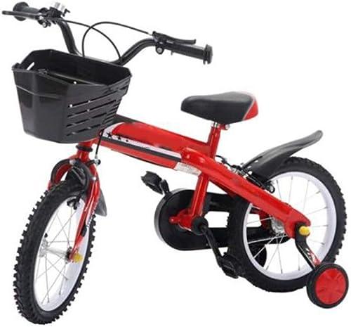 envío gratis Bicicleta para Niños con Ruedas Ruedas Ruedas de Entrenamiento, Niños, hombres y mujeres Niños Montaña de 12 14 16 Pulgadas, (rojo, naranja)  Todo en alta calidad y bajo precio.